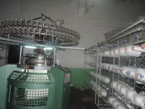 knitting fabric machinery
